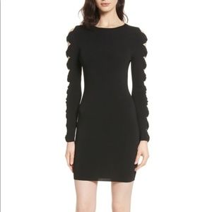 Ted Baker Women's Knotted Sleeve Body-Con Dress; M
